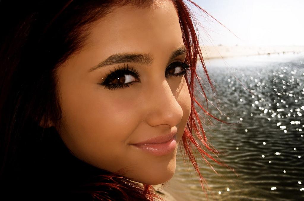 Ariana Grande græd